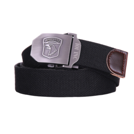 101st Airborne trouser belt BLACK