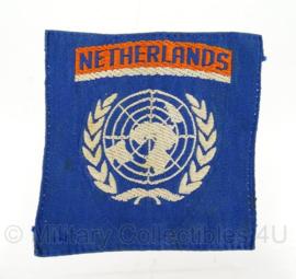 VN/UN embleem Netherlands - ca. 7 x 7,5 cm - origineel