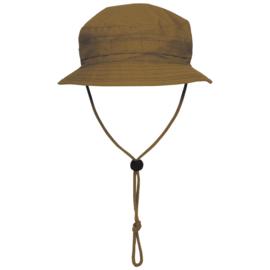 Boonie hat / Bush hat Ripstop - Special Forces model Short Brim - COYOTE