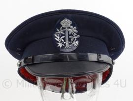 Belgische Gemeente politie pet - maat 61 - zweetband ontbreekt - origineel