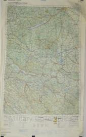 Joegoslavië topografische kaart 1:500 000 - Sarajevo list 45 - 107 x 64,5 cm - origineel