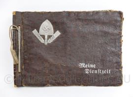 WO2 Duitse RAD Reicharbeitsdienst leeg fotoalbum Erinnerungen an Meine Dienstzeit - 27 x 19 x 2 cm - origineel