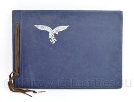 WO2 Duitse Luftwaffe leeg fotoalbum met 1e model Adelaar - 26,5 x 19  cm - origineel
