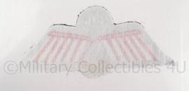 KL Nederlandse leger  Parawing D (vrije val, HAHO/HALO), DT 2000 - 10,5 x 4,5 cm