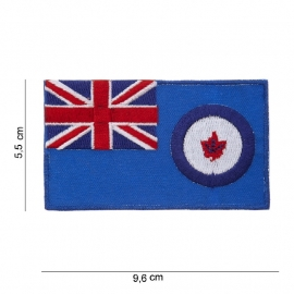 Canadese luchtmacht embleem stof 9,6 x 5,5 cm