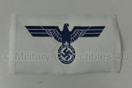 Kriegsmarine Bevo adelaar blauw / wit