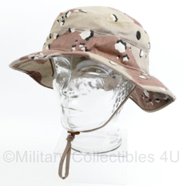 Zeldzame US Army 1e Golfoorlog Desert camo boonie hat bush hat - officiële moderne versie van  Propper - maat 7 3/4 - origineel