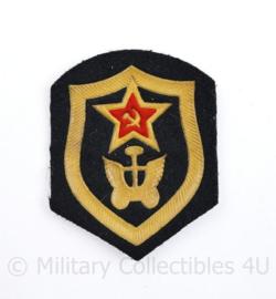 USSR Russische leger arm embleem  - 8,5 x 6,5 cm - origineel