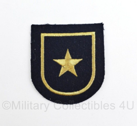 Koninklijke Marine arm embleem met ster - 6 x 6 cm- origineel