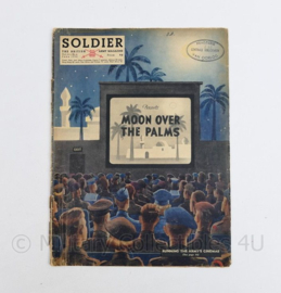 The British Army Magazine Soldier Vol 8 No 4 June 1952 -  Afkomstig uit de Nederlandse MVO bibliotheek - 30 x 22 cm - origineel