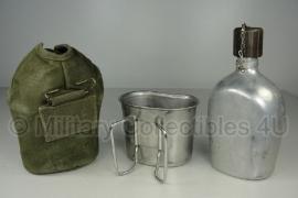 Nederlands leger oud model MVO veldfles set - origineel
