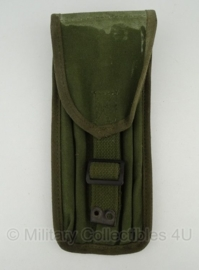 KL Nederlandse leger .50 pompstok tas - origineel