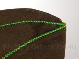 Overseas cap Garrison cap Green/Yellow piping - Military Police MP