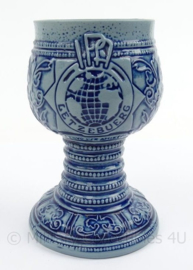 Beker IPA Letzebuerg - afmeting 13 x 8,5 cm - origineel