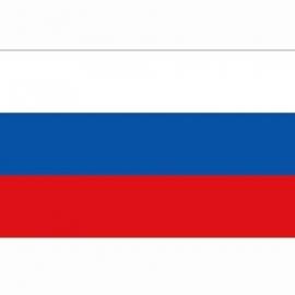 Vlag Russische Federatie (GOS) - Polyester -  1 x 1,5 meter