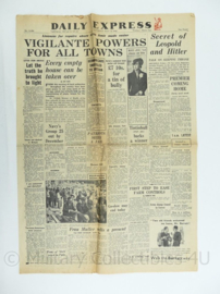 Daily Express krant - 21 May 1945 - origineel