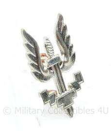 Special Forces speld zilverkleurig - 3 x 1,5 cm - origineel