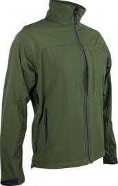 Softshell jas Odin Olive green Highlander - maat Medium - licht gedragen - origineel