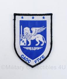 Klu Luchtmacht embleem Nato Air Command DACCC Deployable Air Commando  CAOC Five -  met klittenband - 10 x 7 cm - origineel