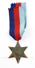 Brits Wo2 The 1939-1945 Star medaille - 13 x 4 cm - origineel