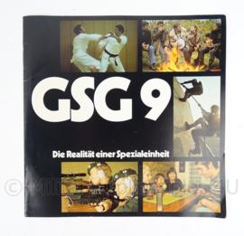 """GSG9 die realitat einer spezialeinheit"""" - origineel"""