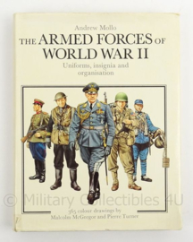 Naslagwerk Armed Forces of World War II - uniforms, insignia and organisation Andrew Mollo - origineel