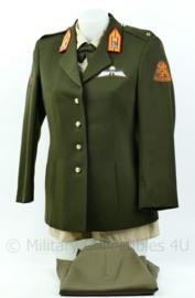 KL DT KMA  dames uniform set (met overhemd en rok) uit 1997 - Maat 38 - Origineel