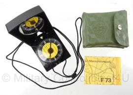 DDR kompas met groen hoesje - origineel