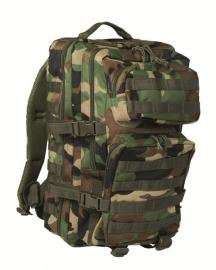US Assault Pack Large - Woodland