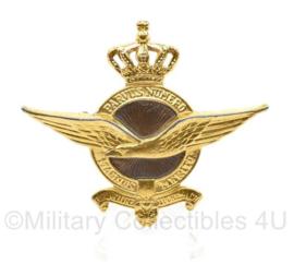 KLu Luchtmacht GLT pet insigne metaal - 1 bevestiging mist  - 7,5 x  6,5 cm - origineel