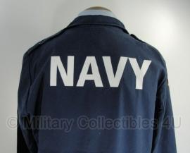 Bundeswehr NAVY jas (met bedrukking op rug) - meerdere maten - origineel