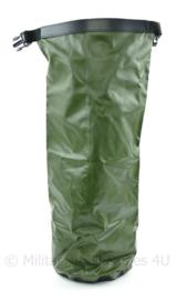 Nederlandse Defensie Waterdichte rugzak liner drysack klein model groen tot 80l rugzakken - 57 x 17 x 17 cm - NIEUW - origineel