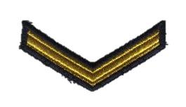 KM Nederlandse Marine schouder rang ENKEL - Matroos der 1e klasse - origineel