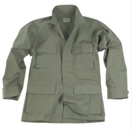 US BDU field jacket Ripstop - OD Green