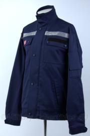 DB damesjas met reflectie en klittenband voor rugstrook - Goretex - maat L - donkerblauw - Nieuw