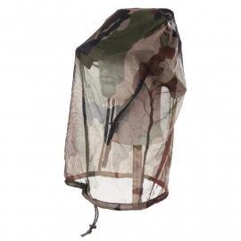 Boonie hat met vast vak voor muggennet- Franse CCE camo