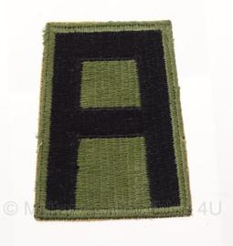 WO2 US 5th Army embleem - 5 x 7,5 cm - origineel
