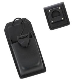 Safariland portofoon tas met draaipunt 762  Safariland 762 Radio Carrier merk Safariland Ontario  - origineel politie