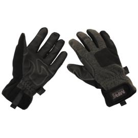 Handschoenen grijs gevoerd - waterafstotend en windbestendig - maat M t/m XXL