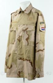 Korps Mariniers desert camo basis jas - maat 8000/9095 - NIEUW - origineel