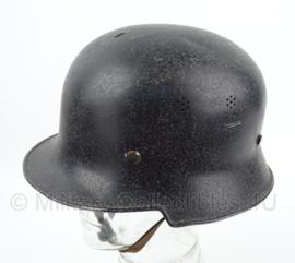 WO2 Feuerwehr Duitse helm ALLUMINIUM - maat 58 - origineel WO2