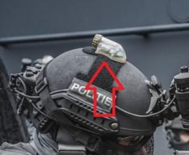Multipurpose Helmet Strobe Light in kunststof box Politie DSI