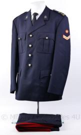 Korps Mariniers Barathea uniformset met broek - rang Korporaal  - Maat 46K -  Origineel