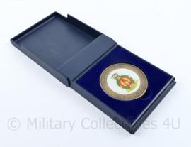 KLU Luchtmacht coin met doosje DELM LDR 1946 - 2006 60 jaar - diameter 5 cm - origineel