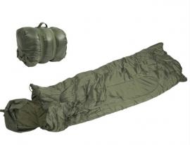 Slaapzak - warm en toch compact - groen