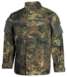 Tactical uniform jasje Ripstop - US army model - flecktarn camo