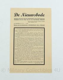 krant de Nieuwsbode - 7 juli 1945 - origineel
