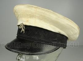 Nederlandse Gemeentepolitie pet - verkeerspolitie - maat 55 cm. - model 1947-1961  - origineel