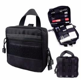 Molle (medische)draagtas IFAK Bag - nieuw gemaakt - BLACK