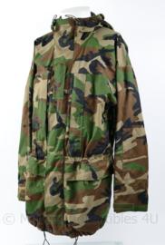 Korps Mariniers Woodland bilaminaat Smock - maat L - redelijke staat - origineel